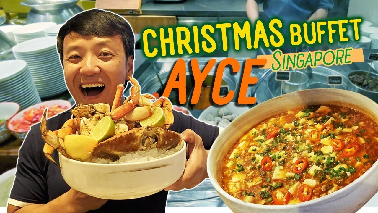 Singapore Christmas All You Can Eat Buffet Eva Airline Best Meals In 2020 Eat Good Food Meals