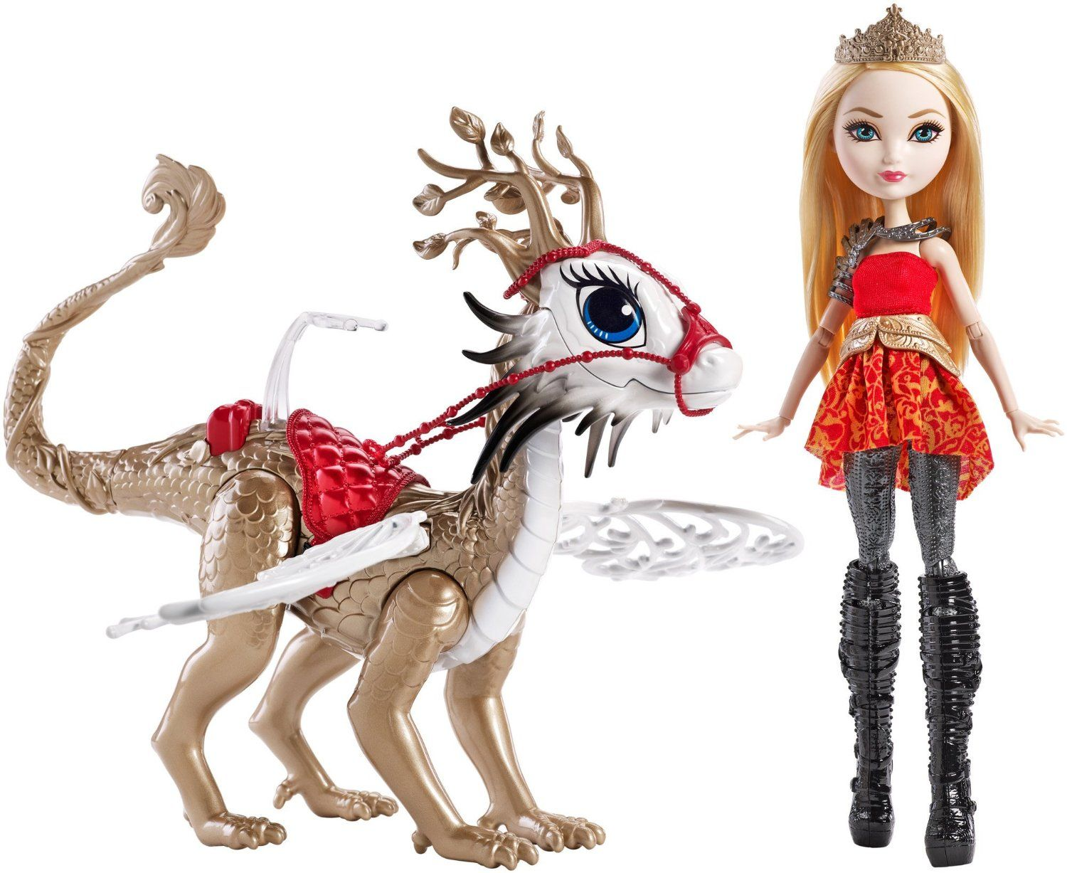 Ever After High Dragon Games Apple White Doll