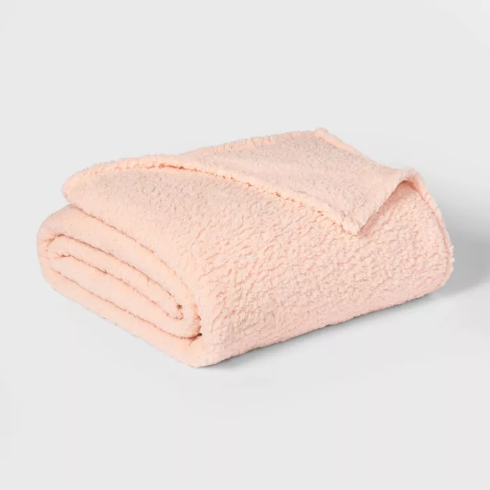 2a250ae58d7bdc72904117220d7038b1 - Better Homes And Gardens Quilted Sherpa Throw Blanket Blush