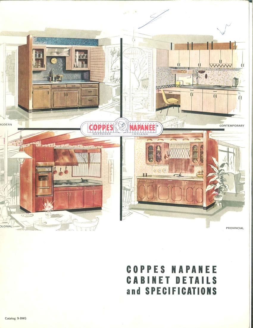 Coppes Napanee Cabinet Details And Specifications Coppes Inc Free Download Borrow And Streaming Internet Archive Cabinet Detailing Vintage House Kitchen Concepts