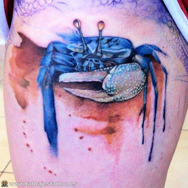 tatuajes de cangrejos | pantalla | Pinterest | Tatuaje de cangrejo ...