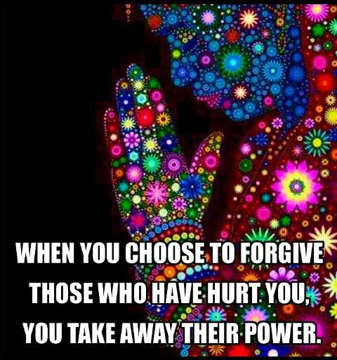 Come on forgiveness!