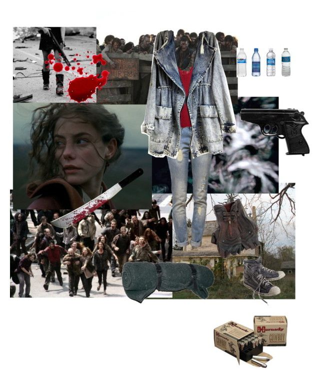 """""""The Walking Dead"""" by elizabethmars on Polyvore featuring Diesel, Anine Bing and Tala"""