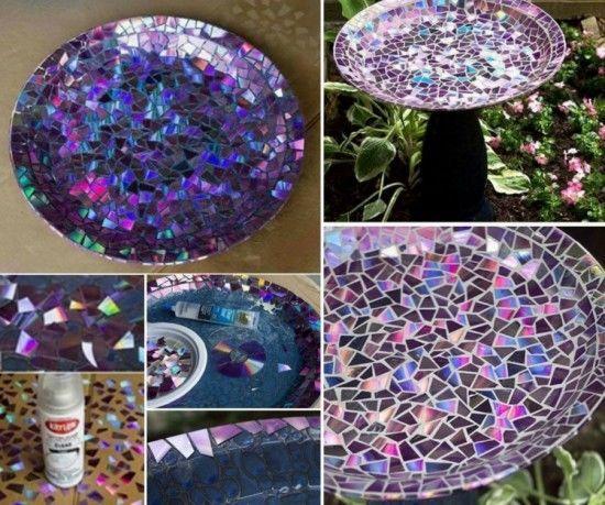 Dvd bird bath recycled diy crafts craft ideas diy crafts do it dvd bird bath recycled diy crafts craft ideas diy crafts do it yourself diy projects crafty solutioingenieria Gallery