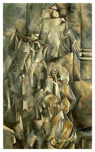 georges braque violin and pitcher