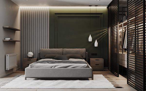 Modern Apartments 02 Part2 Dezign Ark Beta Luxury Room Design Modern Bedroom Interior Modern Apartment