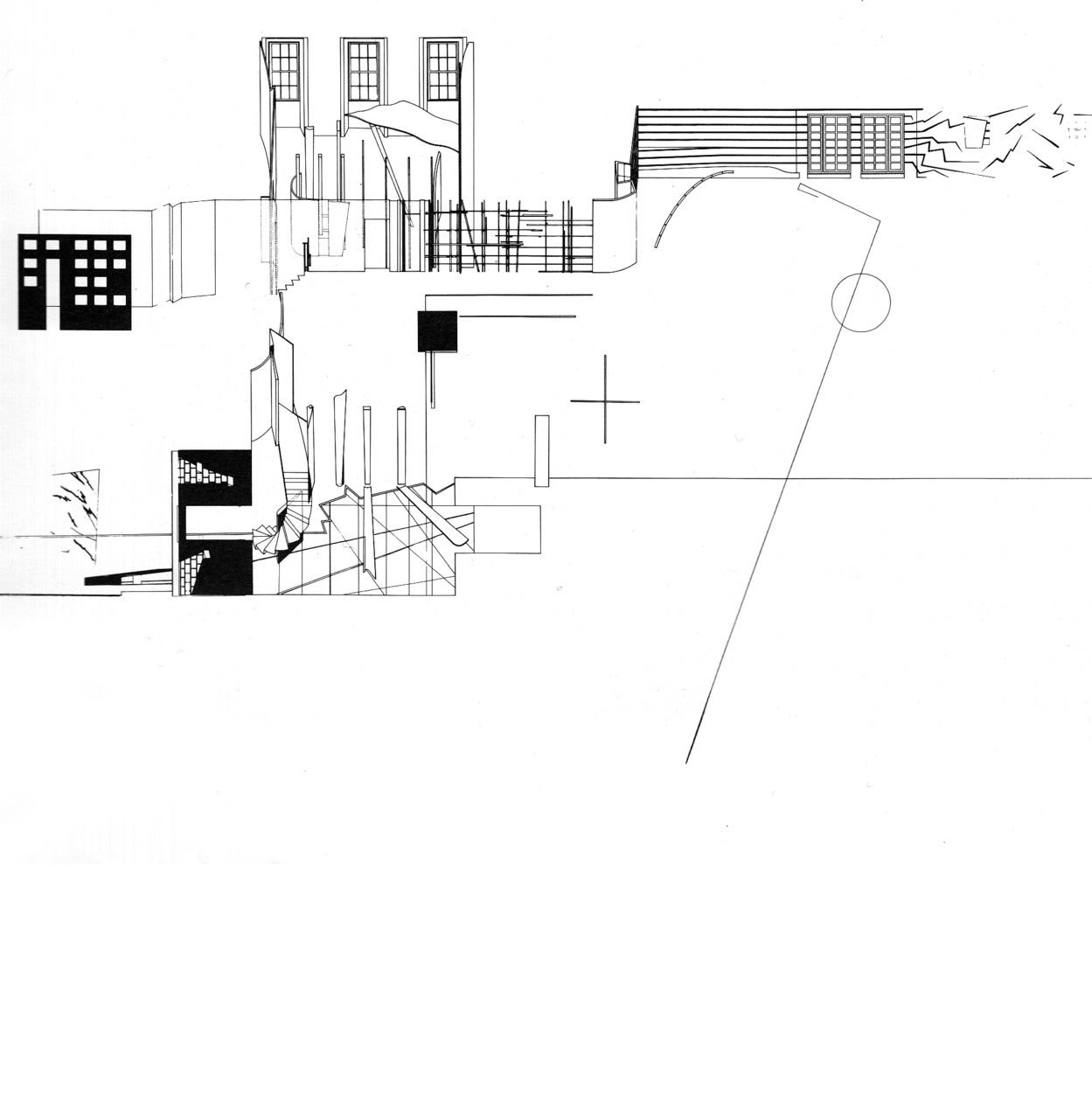 Zaha Hadid Conversion Of 59 Eaton Place Overall Interior