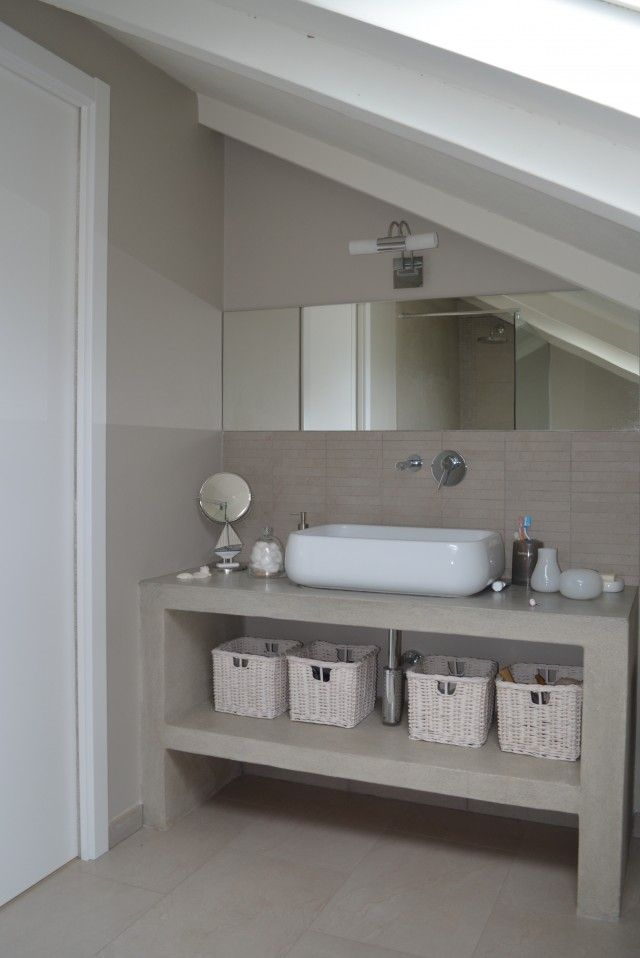 Bagno mansarda  ADesignED progetti nel 2019  Bathroom