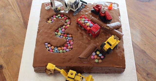 Baustellenkuchen Kinder Kuchen Geburtstag Baustellenkuchen Bob Der Baumeister