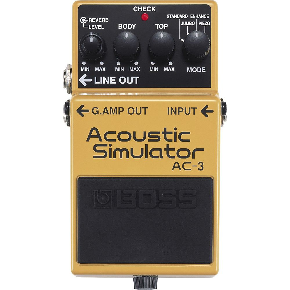 Boss Ac 3 Acoustic Simulator Guitar Effects Guitar Effects Pedals Acoustic
