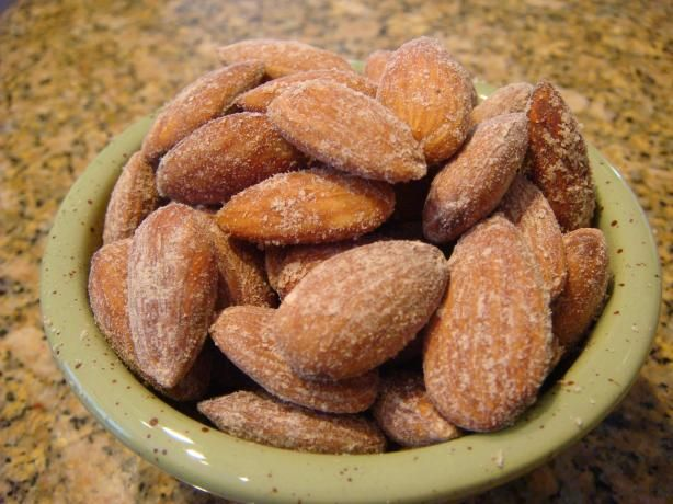 Smoked Almonds from Food.com: These taste like the real smokehouse almonds you buy in the store for a huge price. I made these last Christmas for a bazaar and just found the recipe again. They are good even in the middle of summer. I have also used a combination of mixed nuts and they are still good.