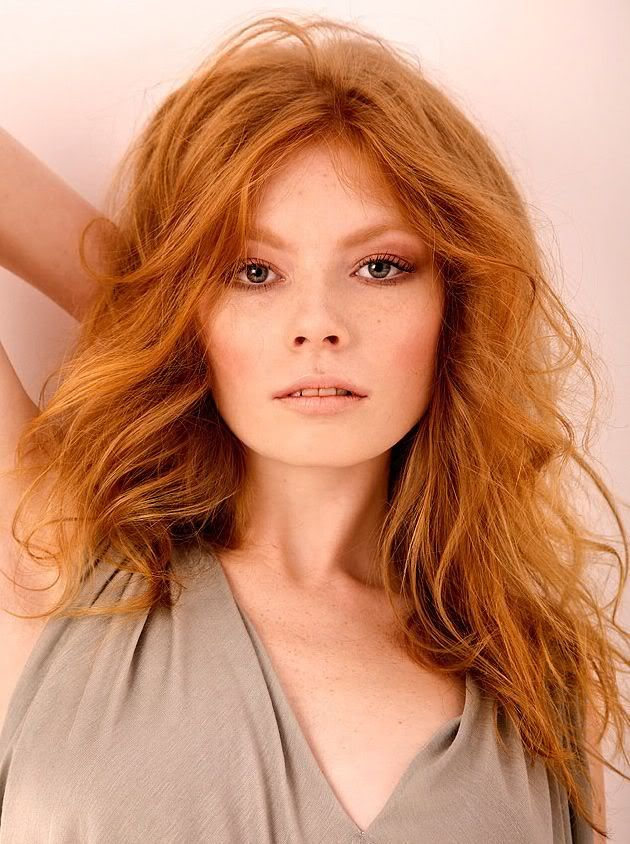 Copper red hair color doesn\u2019t occur very often naturally, but it is true that most redhaired