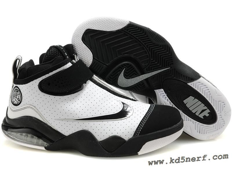 huge selection of 7c2c6 01723 Nike Zoom Flight Club White Black - Tony Parker Shoes Discount