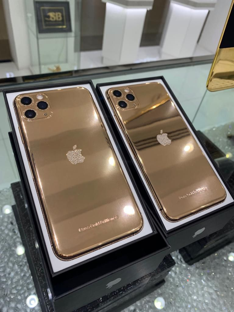 Latest iPhone 11 Pro (Max) with Diamond Crystal