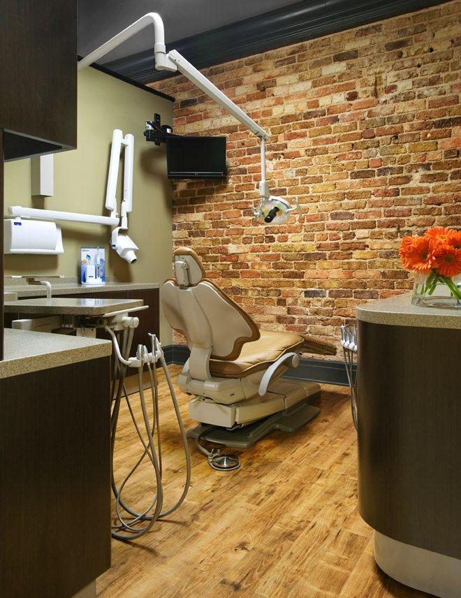 Industrial themed #dental surgery | Dental office decor ...
