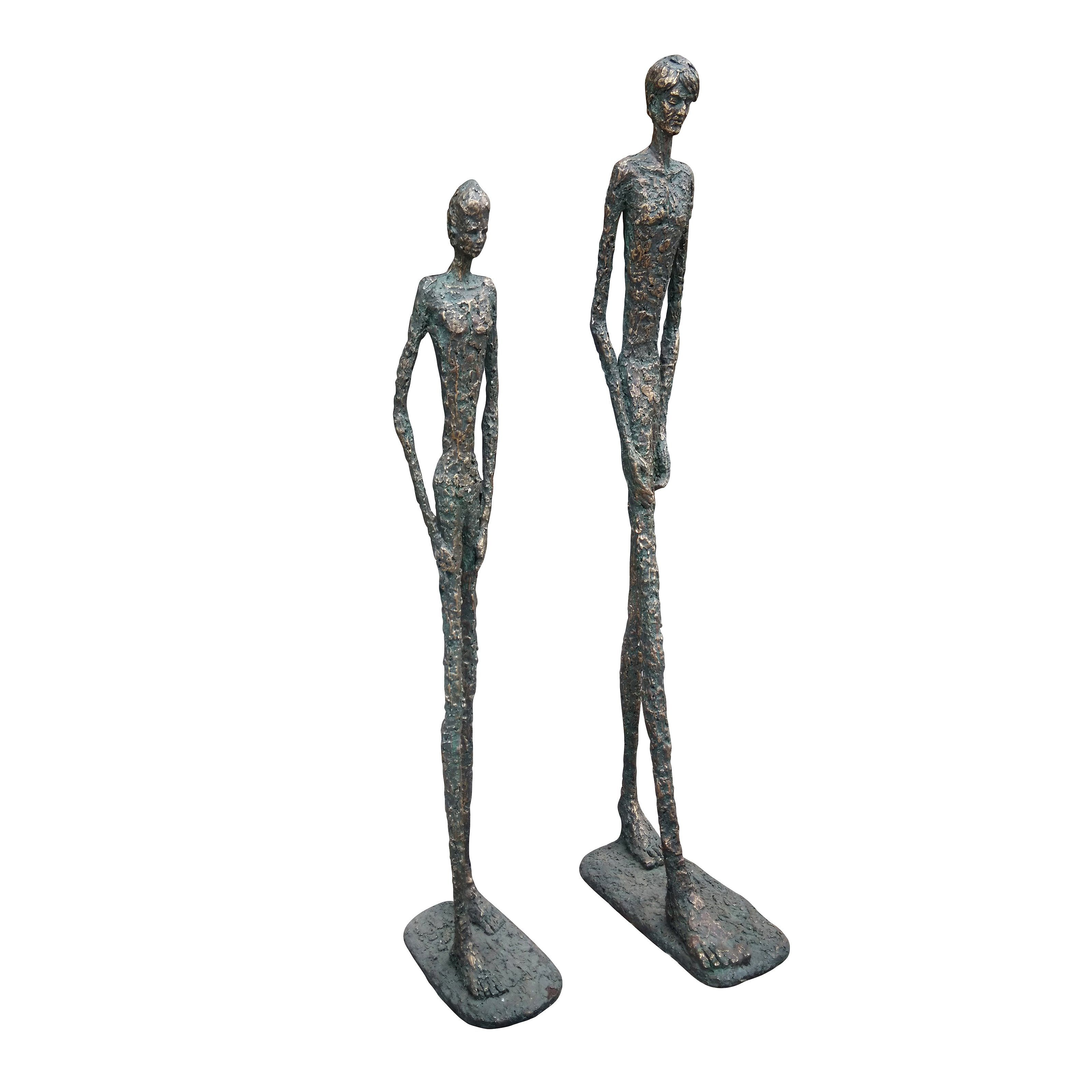 Moes Home Collection Two Friends Sculpture - Set of 2 - LA-1039-31