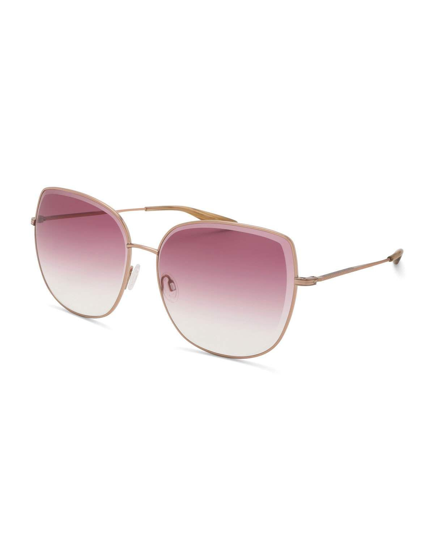 ccfce4c4ba Barton Perreira Espirutu Gradient Butterfly Sunglasses