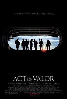 Act of Valor. One word.... AMAZING!!! The audience sat silent during and after the movie. No one said a word until they were all in their vehicles!!.... God bless our troops and their families!!!! Thank you so much for what you do!!