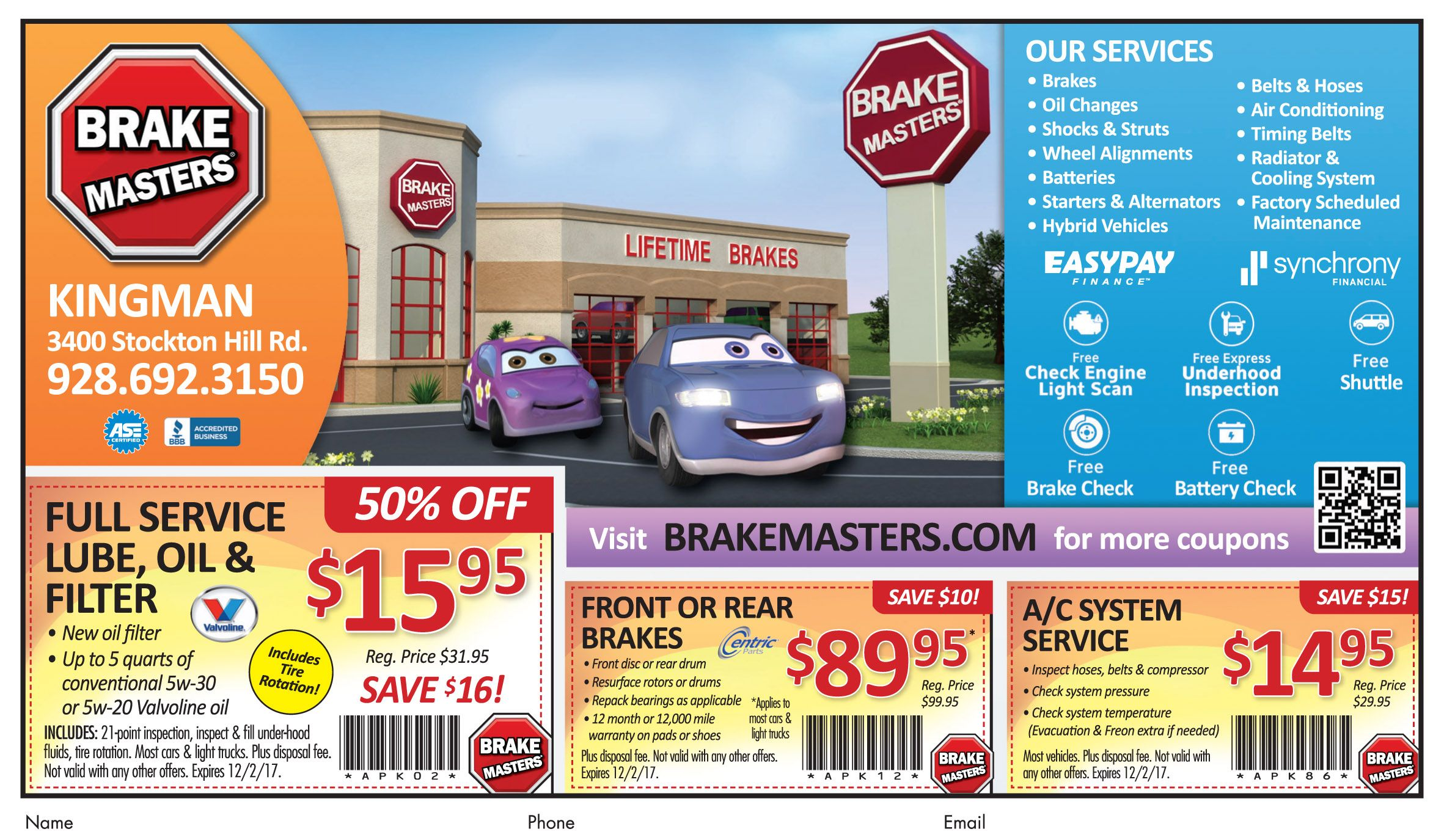 Brake Masters Coupons >> Brakes Squealing Brakemasters Can Fix Them Right Up For