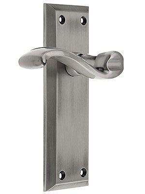 Grandeur Fifth Avenue Door Set With Portofino Levers Exterior Door