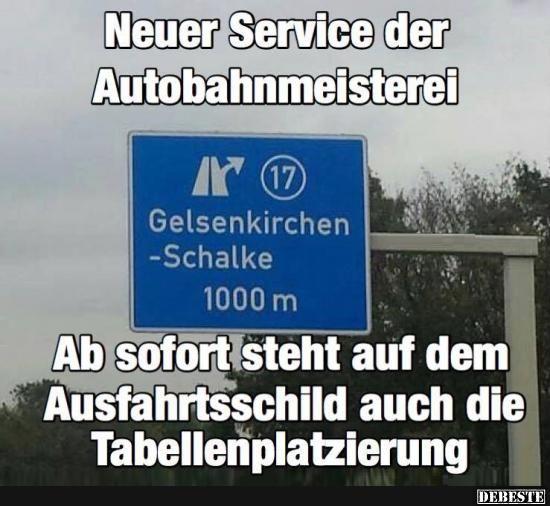Neuer Service Der Autobahnmeisterei Lustige Bilder