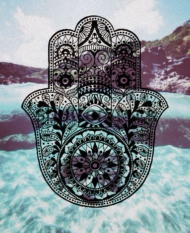 Hamsa Hand Magical Protection From The Envious Or Evil Eye