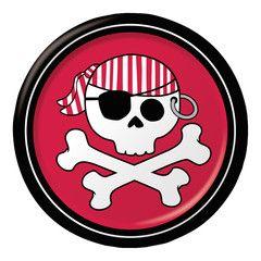 Hold en fed pirat børnefødselsdag