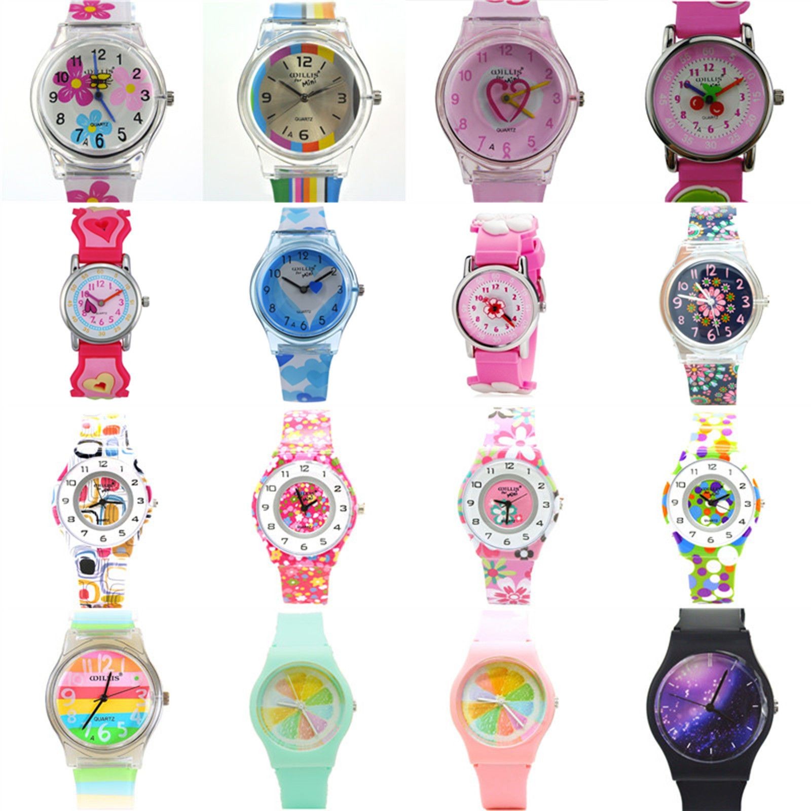Zeiger girls quartz #watch kids child analog time #teacher #silicone colorful gif,  View more on the LINK: 	http://www.zeppy.io/product/gb/2/172370815322/