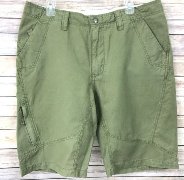 bf1ea77e2 The North Face Mens Cargo Shorts Army Green Size 36 A5 Series Hiking ...