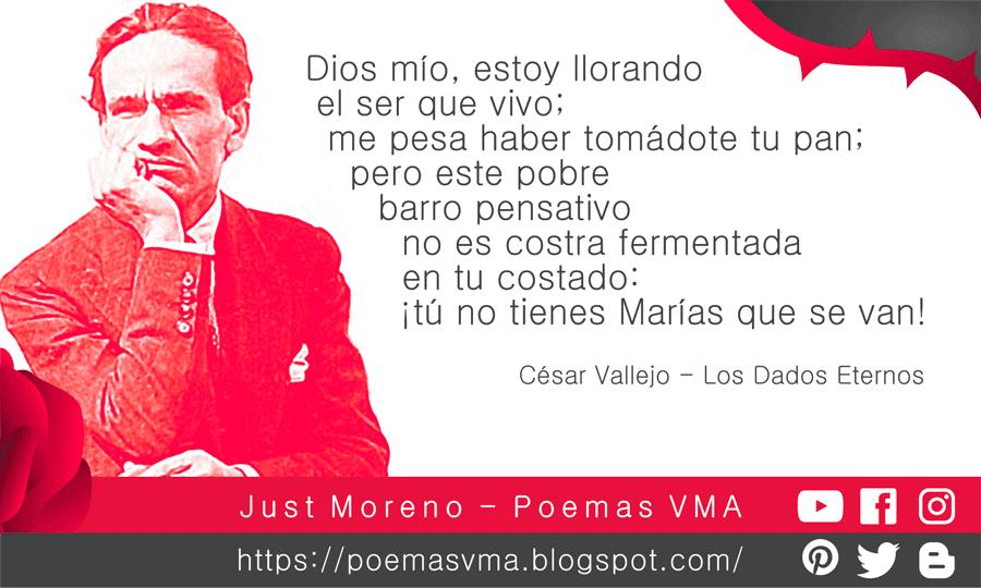 César Vallejo Los Dados Eternos Versos Cesar Vallejo Poemas Poemas Cortos