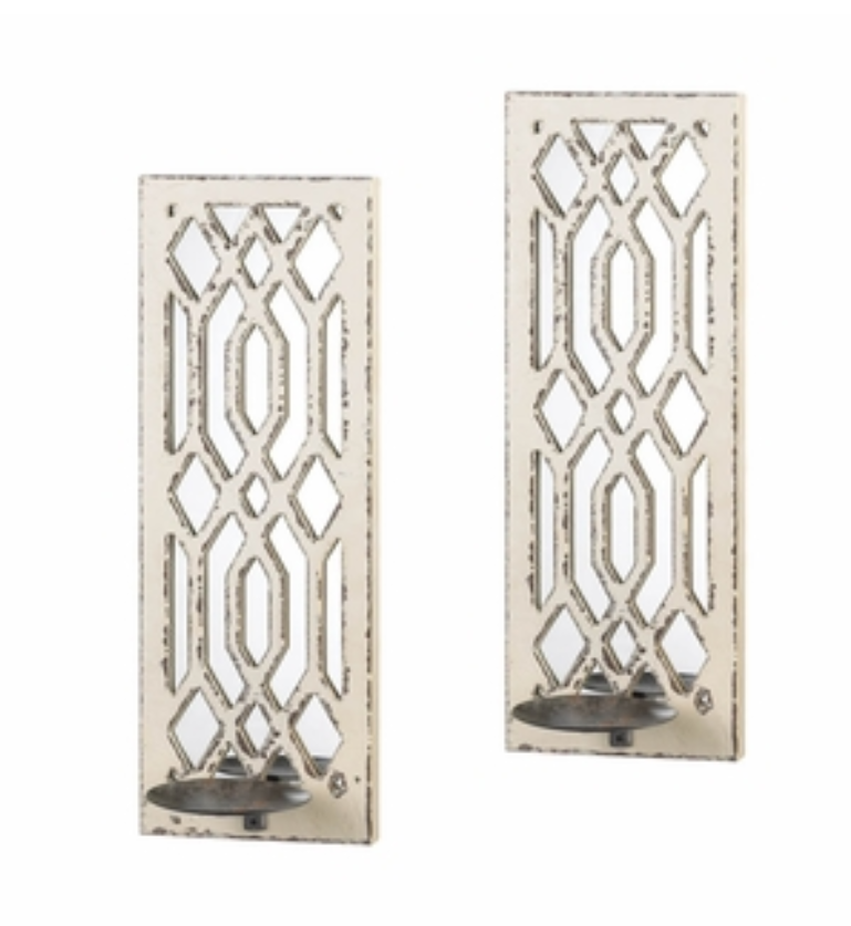 This Pair Of Gorgeous Candle Wall Sconces Will Cast Beautiful