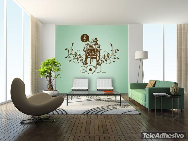 Adesivi Murali Soul   Design per il soggiorno, Salotto ...