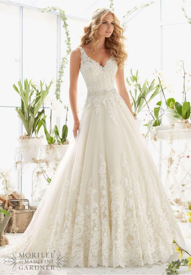Gorgeous Wedding Dresses Lace Open Back 2016 2017 Mori Lee