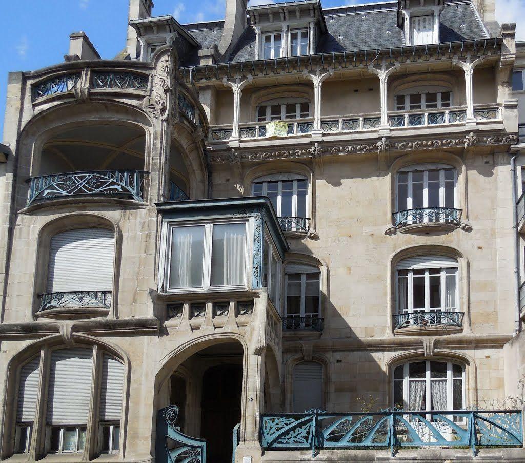 Rue De La Deco immeuble biet (1901-1903) 22, rue de la commanderie nancy