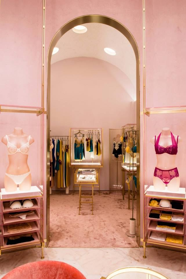 La Perla store by Baciocchi Associati, Milan - Italy