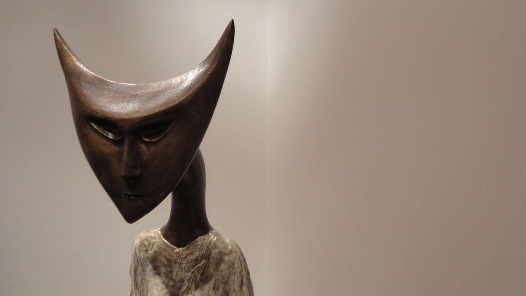 Leonora Carrington sculpture detail