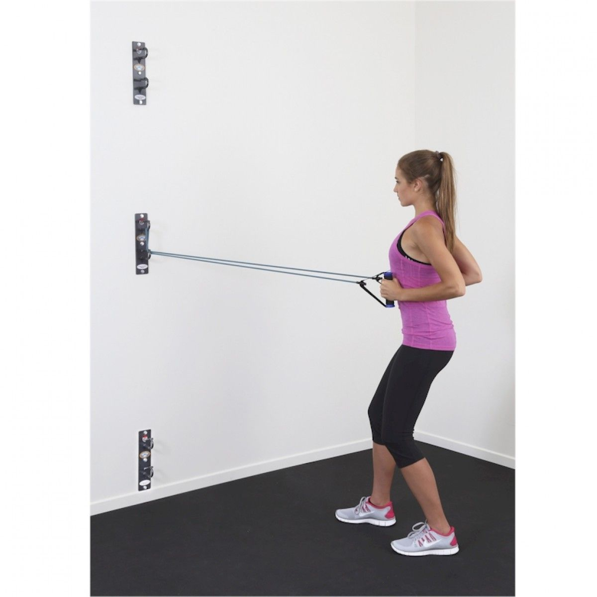 Anchor gym for resistance bands workout room home gym