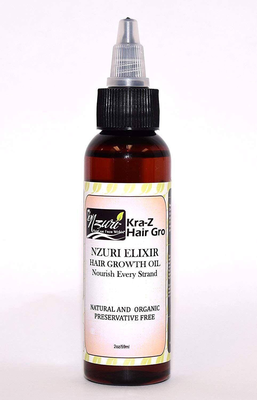 Nzuri Elixir KraZ Hair Growth Herbal Hair Vitamin Infused
