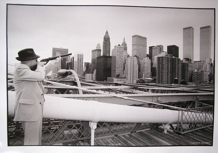 Cuando William Burroughs disparó sobre las Torres Gemelas