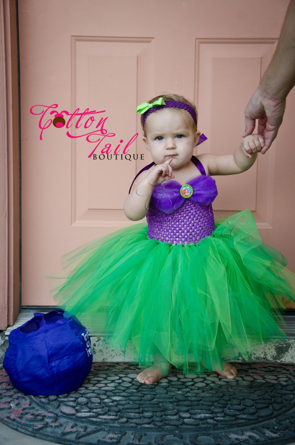 Mermaid Inspired Tutu Dress sizes 04T by CottonTailGifts on Etsy, $45.00