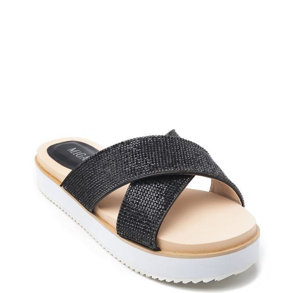 407d03be7bc Black sandal with cross straps
