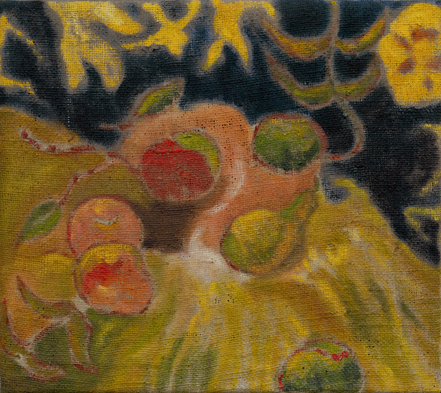 Darby Milbrath | Still Life with Apples (2020) | Available for Sale | Artsy