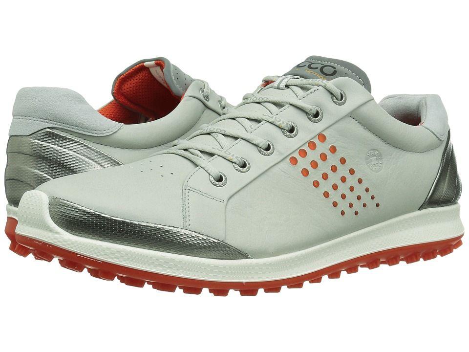 76ee87955e ECCO Golf BIOM Hybrid 2 Men s Golf Shoes Concrete Fire