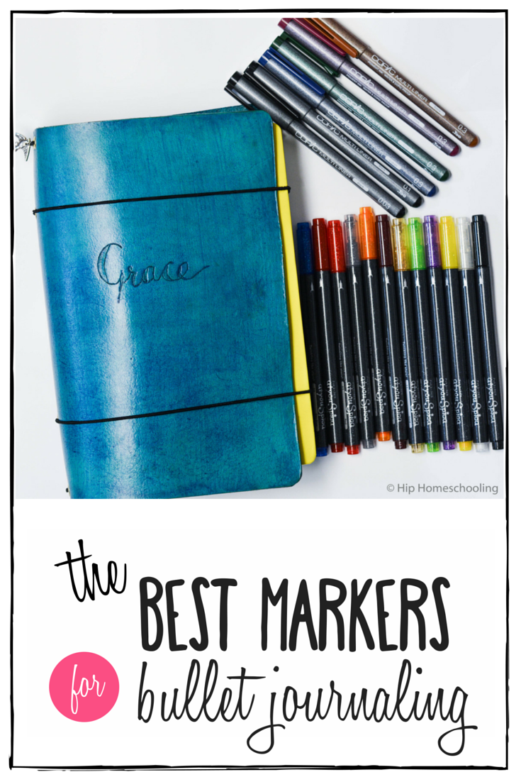 The Best Markers For Bullet Journaling Pens For Bullet