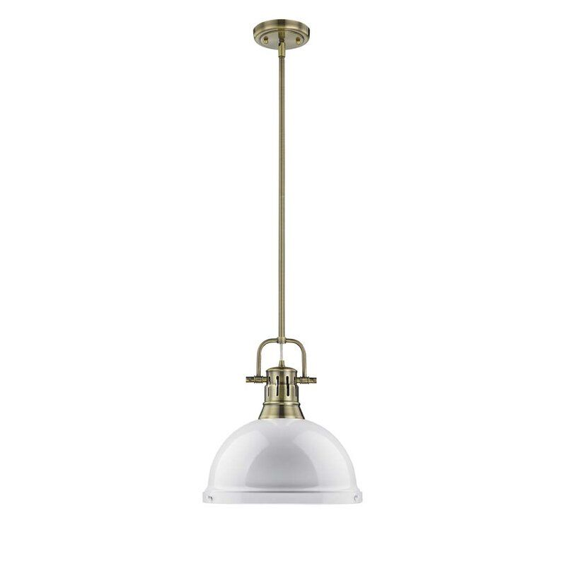 Kylo 1 Light Single Dome Pendant In 2020 Industrial