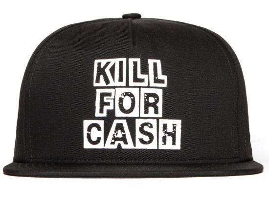 5e77ba496aa Kill For Cash Snapback Cap by SSUR
