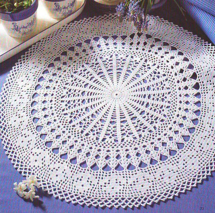 Materiales gráficos Gaby: Patrones de carpetas en crochet ...