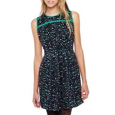 I 'Heart' Ronson® Painted Dot Print Dress - jcpenney