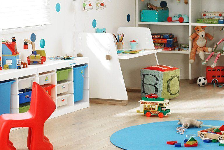 Teppich im Kinderzimmer Kinder zimmer, Aufbewahrung