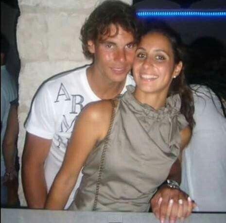 Xisca And Rafa Celebrating Her 28th Birthday July 2016 Tennis Champion Nadal Tennis Rafael Nadal